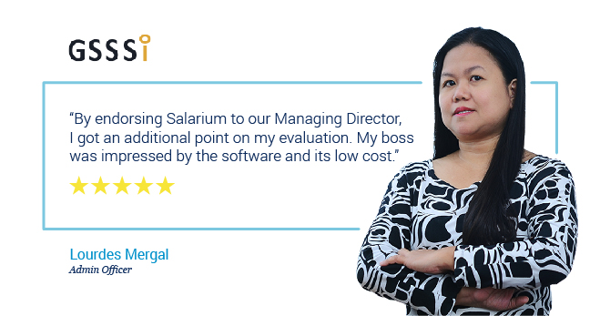 Salarium affordable end-to-end payroll software review by Lourdes Mergal of GSSSi