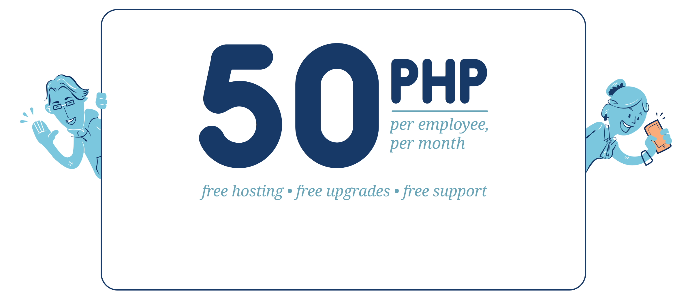 Affordable Payroll software in the Philippines with free support, maintenance and upgrades