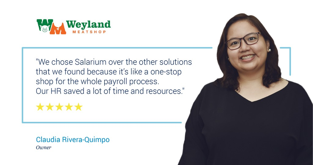 Salarium end-to-end payroll software review by Claudia-Rivera Quimpo of Weyland Meatshop