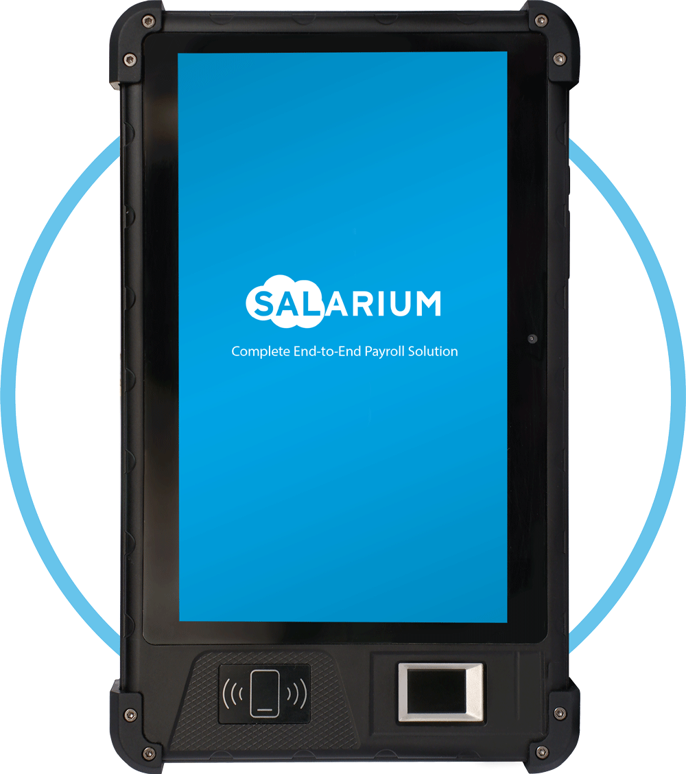 Salarium Nimbus Biometric Device