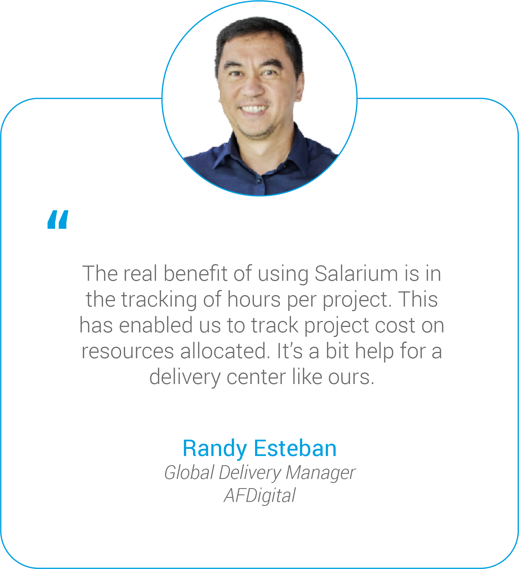 benefit of using salarium is in the tracking of hours per project