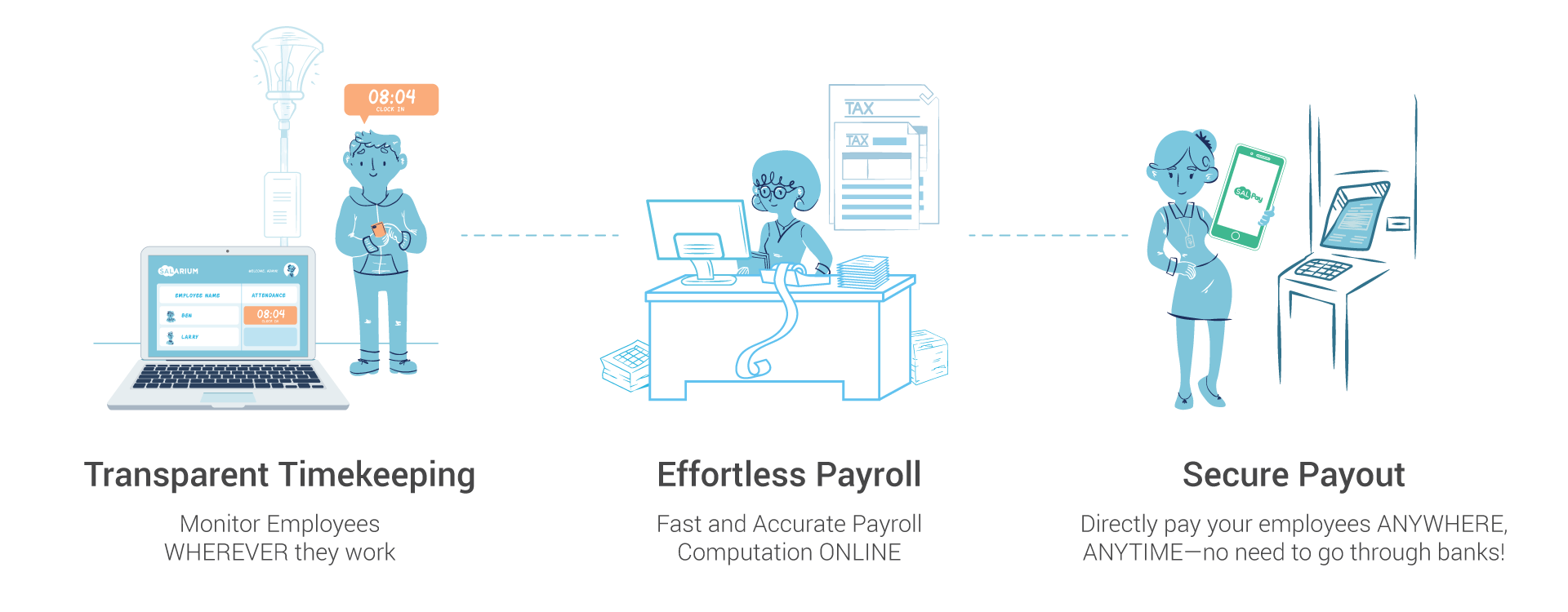 Salarium End-to-End Payroll Solutions